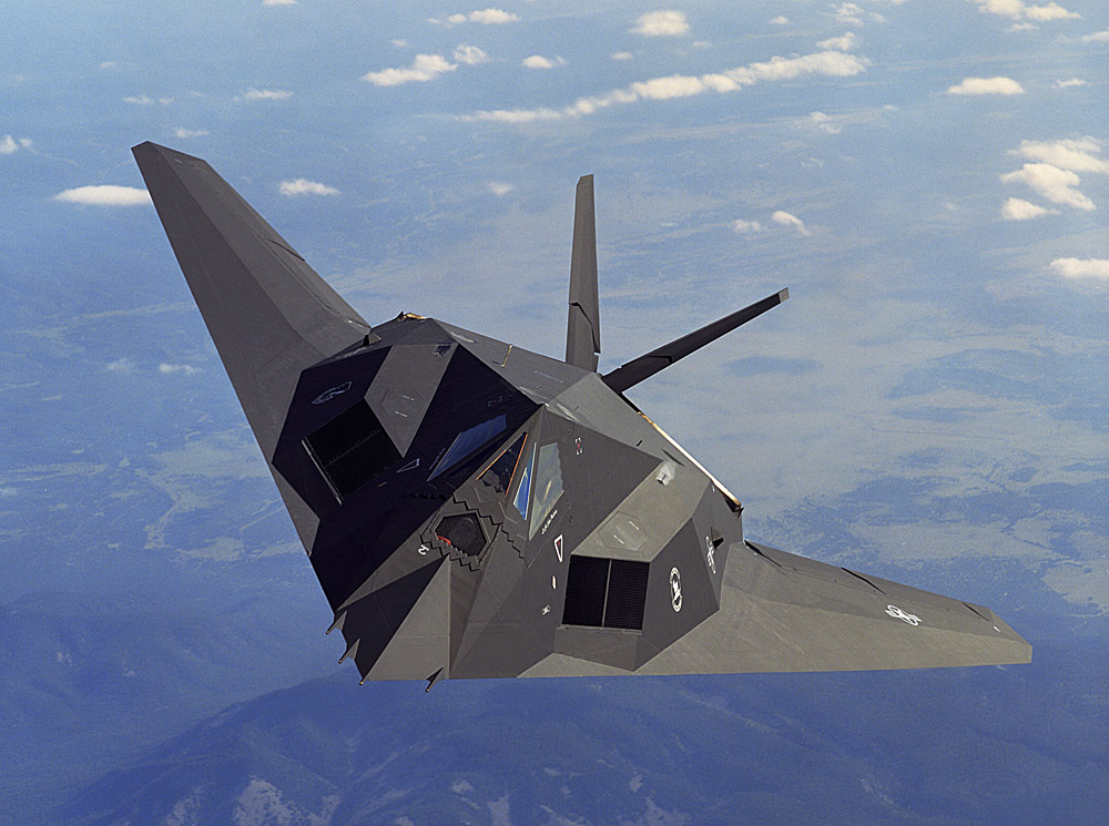 Stealth fighter wallpaper